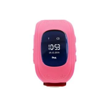 Детские умные часы Smart Baby Watch Q50 (Розовые)