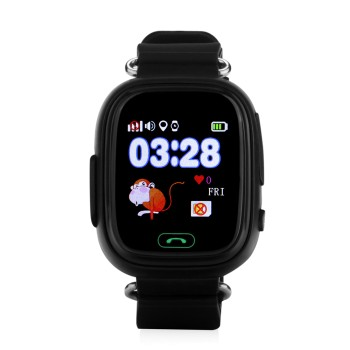 Детские умные Smart Baby Watch Q80 (Черные)