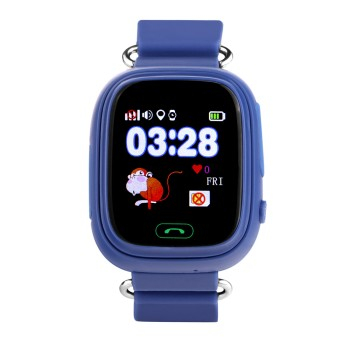 Детские умные Smart Baby Watch Q80 (Синие)