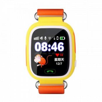 Детские умные Smart Baby Watch Q80 (Желтые)