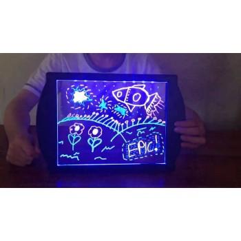 Магическая 3D доска для рисования Glow Drawing Board в Омске