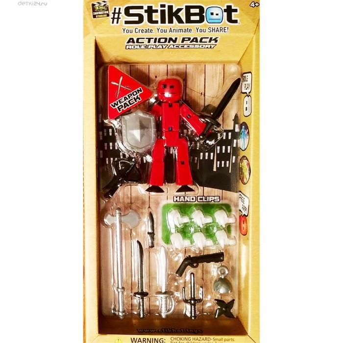 Фигурка Stikbot (Стик Бот) + оружие