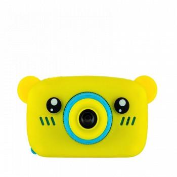 Детская камера ZooKids Bear со встроенной памятью и играми (желтая)
