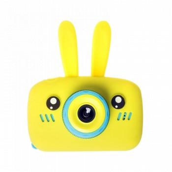 Детская камера ZooKids Rabbit со встроенной памятью и играми (желтая)