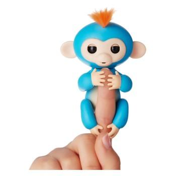 Интерактивная ручная обезьянка Fingerlings -Бирюзовая -Zoe