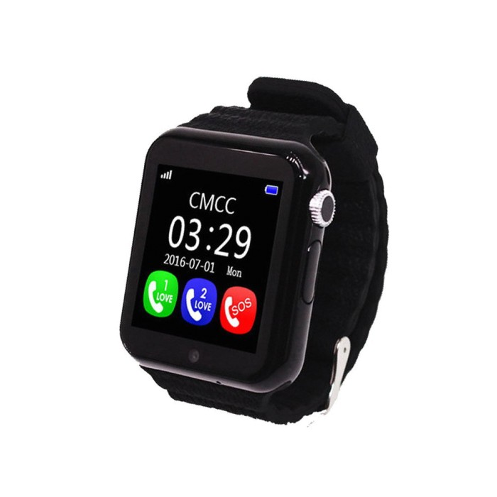 GPS часы Smart Watch X10 (V7K) (Черные)