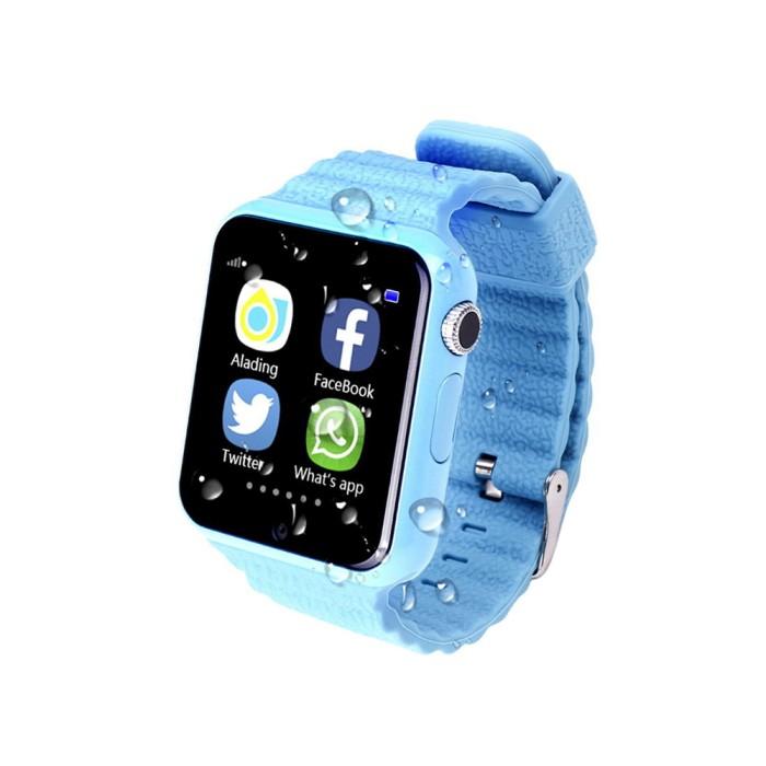 GPS часы Smart Watch X10 (V7K) (Голубые)