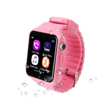 GPS часы Smart Watch X10 (V7K) (Розовые)