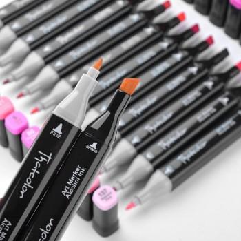 Набор маркеров для скетчинга , 60 цветов