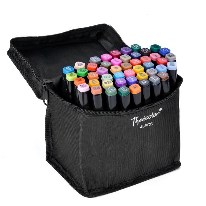 Набор маркеров для скетчинга , 48 цветов