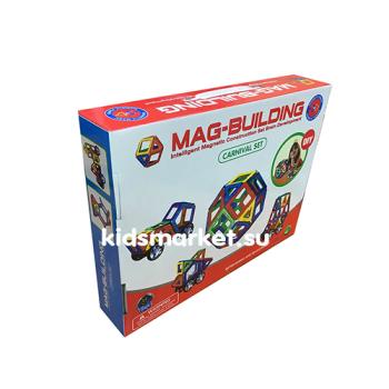 Магнитный развивающий конструктор Mag Building 56 деталей
