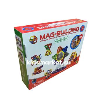 Магнитный развивающий конструктор Mag Building 58 деталей