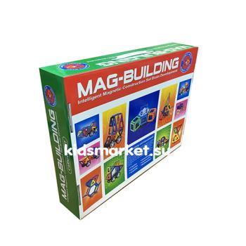Магнитный развивающий конструктор Mag Building 78 деталей