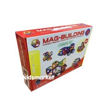 Магнитный развивающий конструктор Mag Building 48 деталей