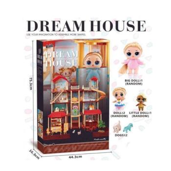 Дом для кукол LOL - Dream House (407 деталей)