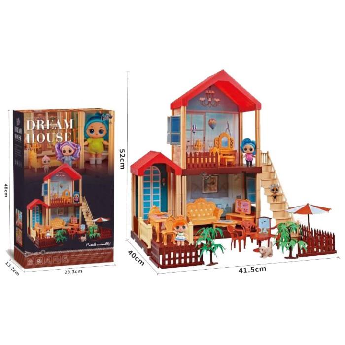 Дом для кукол LOL - Dream House (98 деталей)