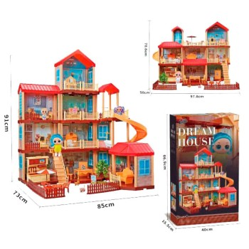 Дом для кукол - Dream House (322 детали)