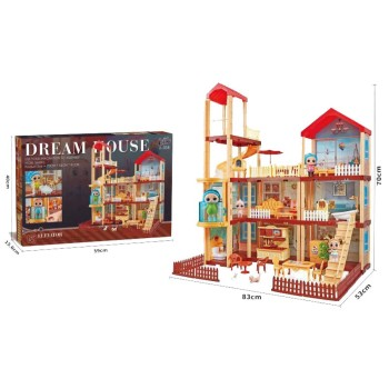 Дом для кукол LOL - Dream House (242 детали)