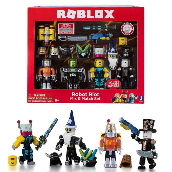 Фигурки Роблокс Бунтари (Roblox) Набор 4 фигурки