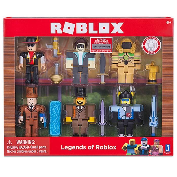 Фигурки Легенды Роблокс (Roblox) Набор 6 фигурок