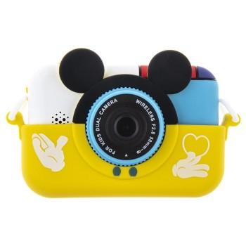 Детский цифровой фотоаппарат Микки Маус, желтый
