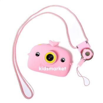 """Детский фотоаппарат """"Кит"""", цвет розовый"""