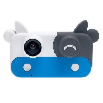 Детский фотоаппарат XOKO KVR-050 COW Коровка. Синий