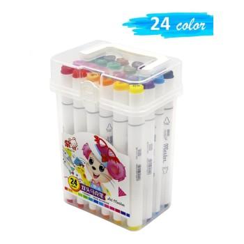 Двухсторонние маркеры для скетчинга Art-Marker / 24 шт