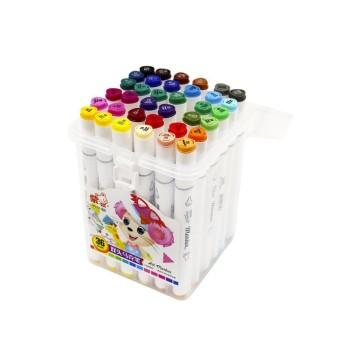 Двухсторонние маркеры для скетчинга Art-Marker / 36 шт