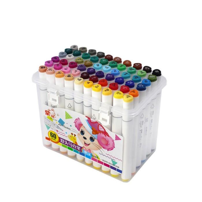Двухсторонние маркеры для скетчинга Art-Marker / 60 шт купить по доступным ценам