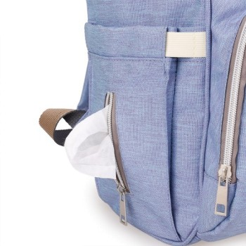 Рюкзак для мамы BABYMO (ГОЛУБОЙ)